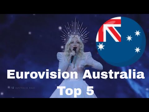 Australia In Eurovision- My Top 5 (2015-2019)