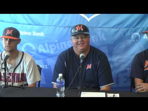 McLennan Post v. Northwest Florida State: 2015 JUCO World Series