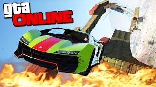 GTA 5 Online (Гонки + УГАР) - Убойные трюкачи! #108