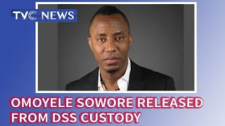 EXCLUSIVE Video: Omoyele Sowore released from DSS custody