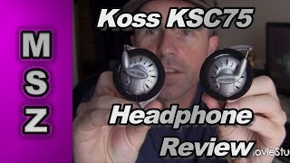 Koss KSC75 High Performance On Ear Headphones Review
