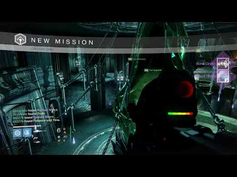 Destiny - WEEKLY, NIGHTFALL & CROTA'S END LOOT REWARDS x3 - HUNTING FOR THE GJALLARHORN #4 [720p60]