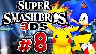 SUPER SMASH BROS. 3DS # 08 ★ Sonic und Pikachu wollen's wissen! [HD]