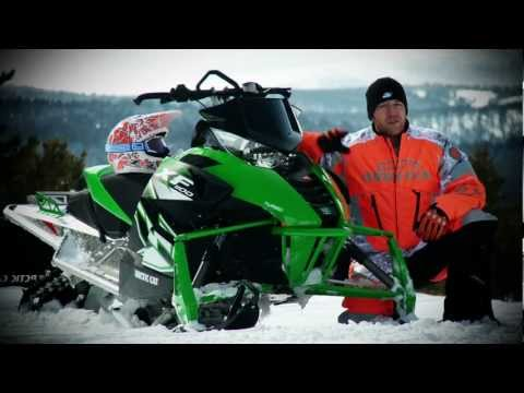 2012 Arctic Cat F1100 Turbo SnoPro Test Ride