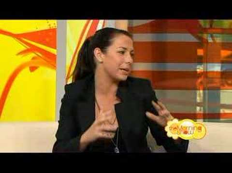Kate Ritchie on the Morning Show