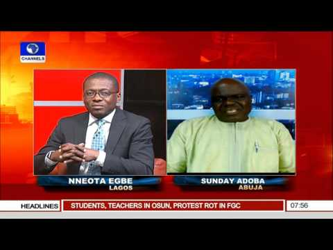 Sunrise Daily: Security Situation In Nigeria -- 16/11/15  Prt 2