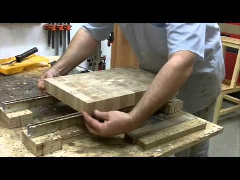 Изготовление торцевой разделочной доски