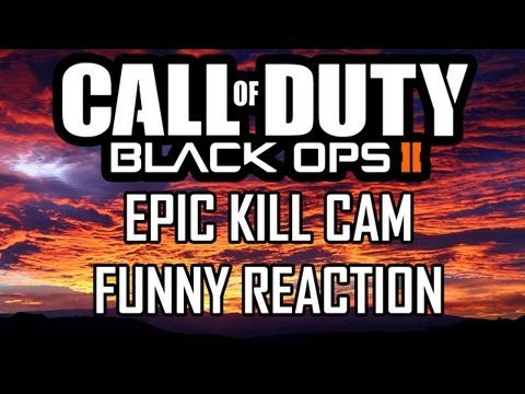 BO2 Epic Final Kill cam w/ Funny Reaction- Call of Duty Black Ops 2 Multiplayer