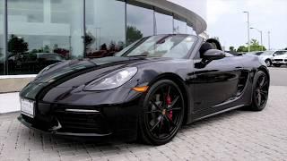 Certified Pre-Owned 2018 Porsche 718 Boxster S at Porsche Centre North Toronto