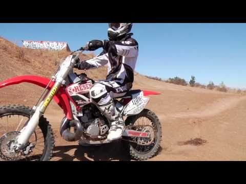 9.15.10 - Freestyle MX riders Allan Vancamp and Jason Springfield at Metzger s Paradise Ranch