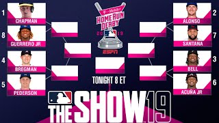 2019 Home Run Derby Simulation! MLB 19 The Show