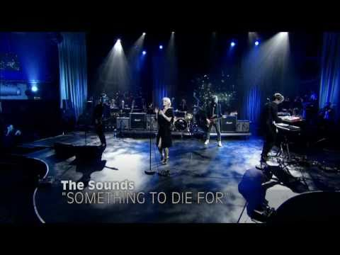 The Sounds - Something To Die For - LIVE at Gullfisken Awards  - OFFICIAL