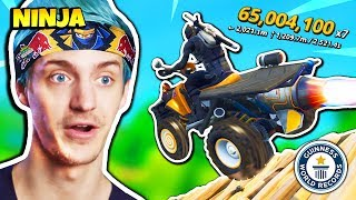 Ninja Reacts To DrLupo's WORLD RECORD | Fortnite Daily Funny Moments Ep.232