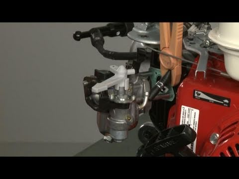 Small Engine Carburetor Replacement - Honda Small Engine Repair (part #16100-Z0T-911) - YouTube