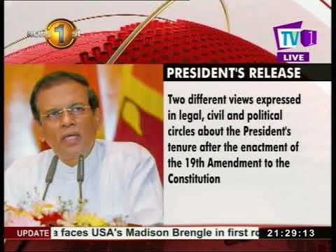 why did president as|eng
