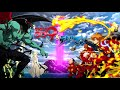 Cyborg 009 vs Devilman | OP Full | Nine Cyborg Soldiers - JAM Project