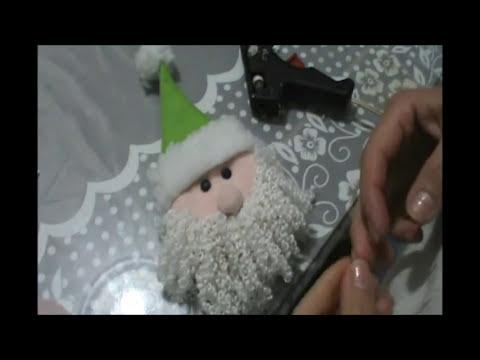 Cara de Papa Noel Colgante