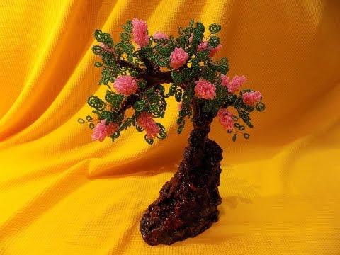 Плетение из бисера деревьев с ольгой ильченко
