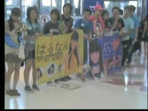Welcome to Thailand : MORNING MUSUME — Oct.16,2012 [ I took this VDO by myself with my CAMERA. ]