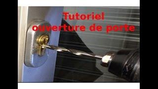 Ouverture de porte verrouillée : comment percer un cylindre de serrure ?
