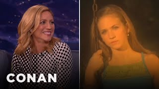 Brittany Snow's Creepy Boy Band Music Video  - CONAN on TBS