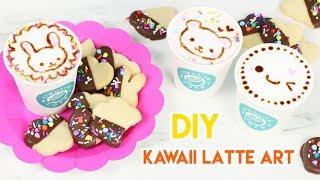 How to Make Kawaii Latte Art! ☕️💕