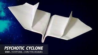 Cách gấp máy bay giấy cực dễ - Bay như là Boomerang - Bay ngược lại