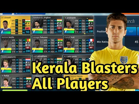 How To get Kerala Blasters Team 2018-19● All Players 100●Dream League Soccer 2019 #1