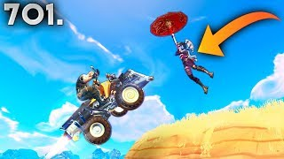 *SMART* 800 IQ VEHICLE KILL..!!! Fortnite Funny WTF Fails and Daily Best Moments Ep.701