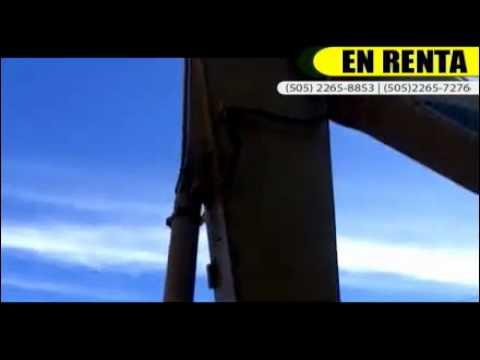 Alquiler de Gruas en Nicaragua | EGTRACSA