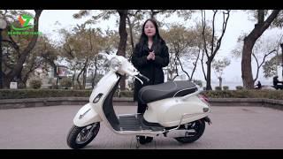 Ra mắt mẫu xe máy điện mới nhất hè 2018 [Vespa Classic]