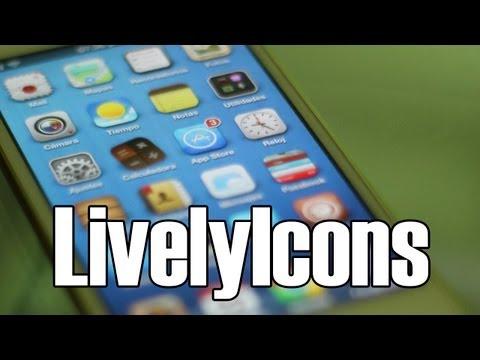 Genial Tweak Para iPhone iPod Touch & iPad (iconos animados) LivelyIcons