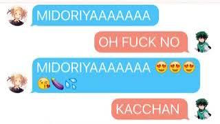 My Hero Academia Texting Stories: Kacchan texting Midoriya about Toga