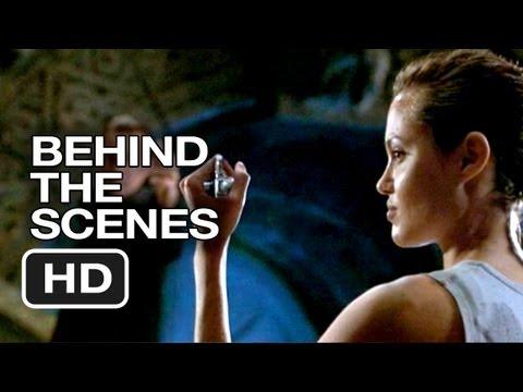 Lara Croft: Tomb Raider Behind The Scenes - The Knife (2001) - Angelina Jolie Movie HD