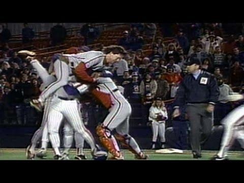 PHI@NYM: Phils, Mets skirmish at Mets home finale
