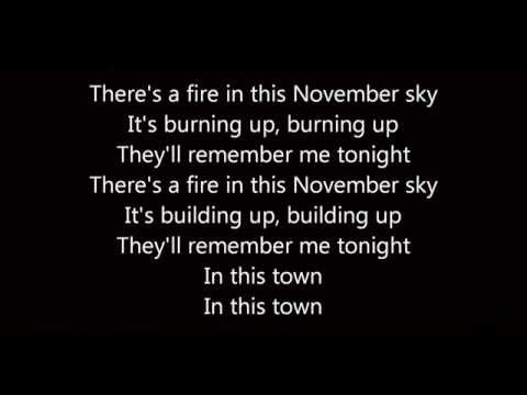 November Sleeping With Sirens (Lyrics)