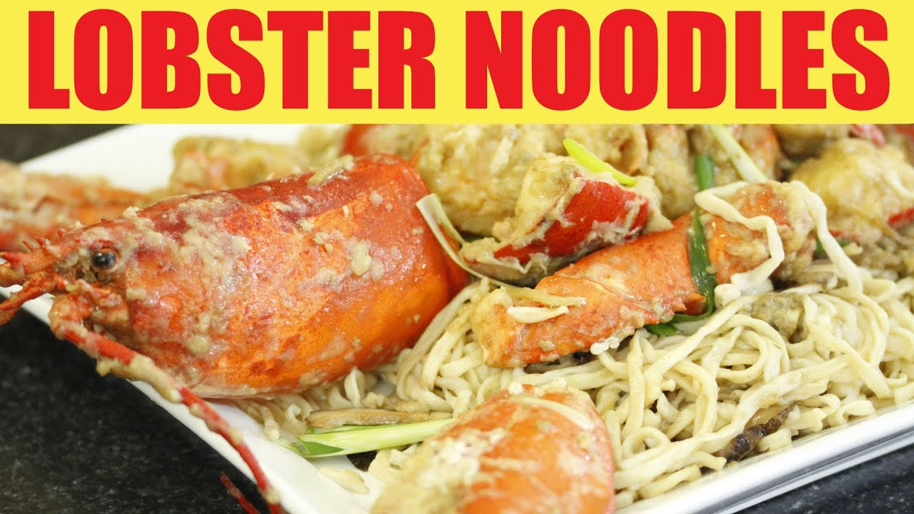 Lobster Yee Mein (Lobster Noodles) Recipe — Dishmaps
