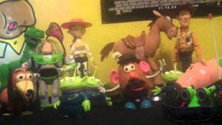 Proof that Toy Story toys DO come to life!