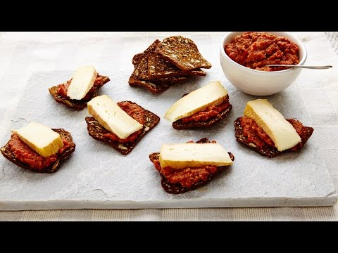 Brie & Muhammara | All You Need Is Cheese