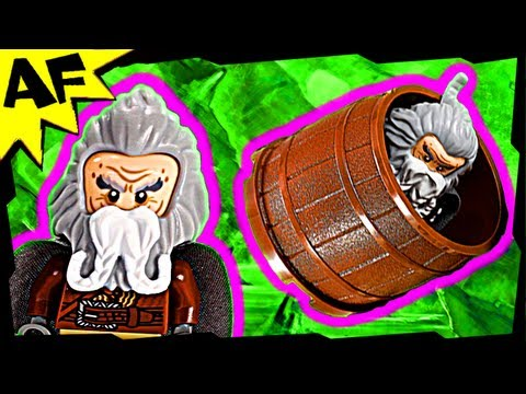 BARREL ESCAPE - Lego the Hobbit 79004 Animated Building Review Desolation of Smaug