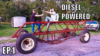 Buying Our Swamp Buggy Project! Detroit Powered!!!!