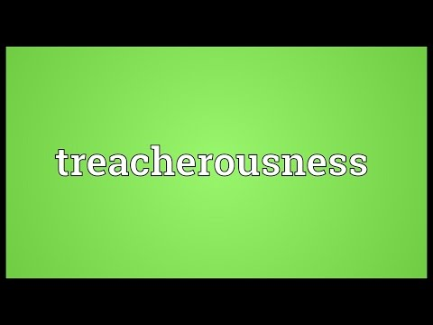 Header of treacherousness