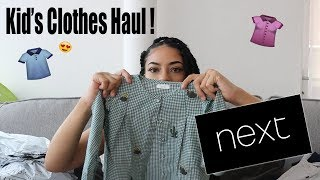 Next Haul 2018 | Kids Clothes @ShannonTerre