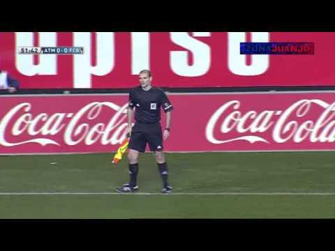Atlético Madrid vs FC Barcelona - Amplio Resumen en Català [0-0][Jornada-19][2014]