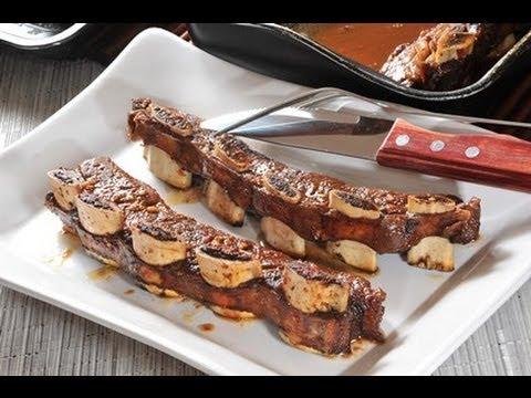 Costillas de res a la brava - Spicy Barbeque Ribs - Recetas de cocina fáciles -Cocina mexicana