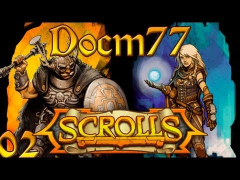 Scrolls w/ Docm77  - How To easily Win the Mega Ogre Trial   #2