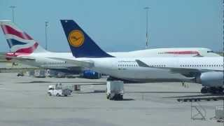 Lufthansa LH492 A340-600 Ankunft in Vancouver  720p.mov
