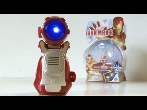 IRON MAN 3 Arc FX Repulsor Toy Review | Votesaxon07