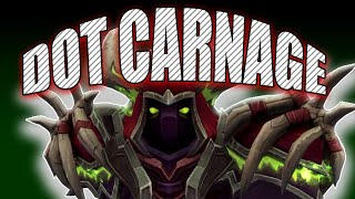 DOT CARNAGE! 8.1.5 Affliction Warlock BFA PVP | Battle for Azeroth 8.1.5