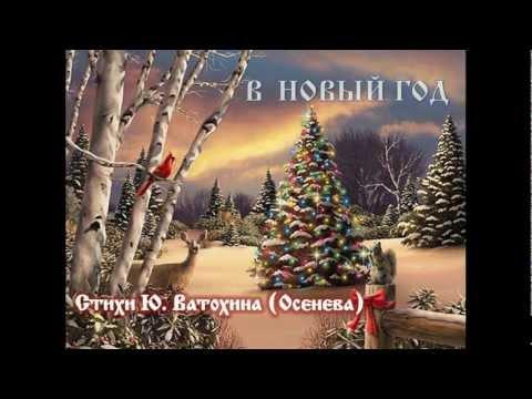 В Новый год. Стихи Ю.Ватохина - Осенева
